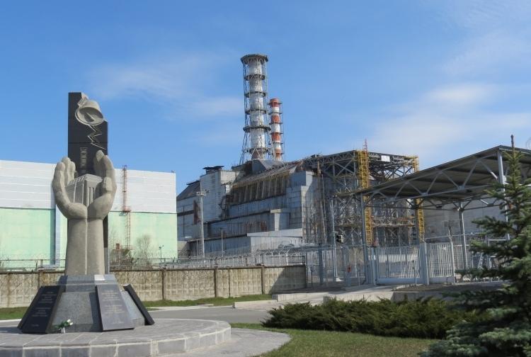 Атомная станция в Чернобыле