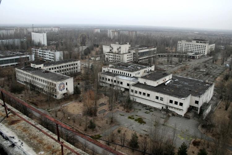 Пустующий город Припять
