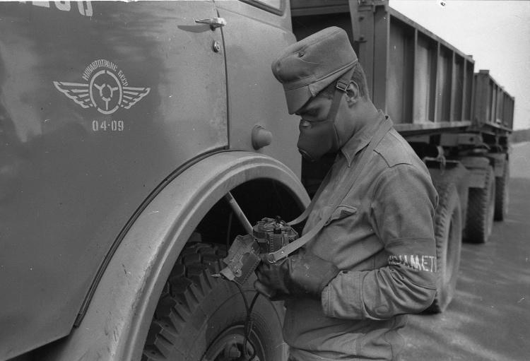 Исследование радиоационного фона автомобиля