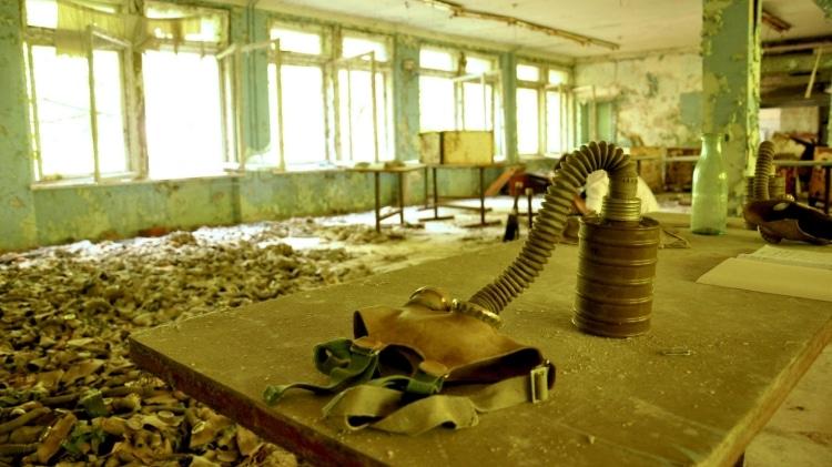 Пустующая школа в Припяти