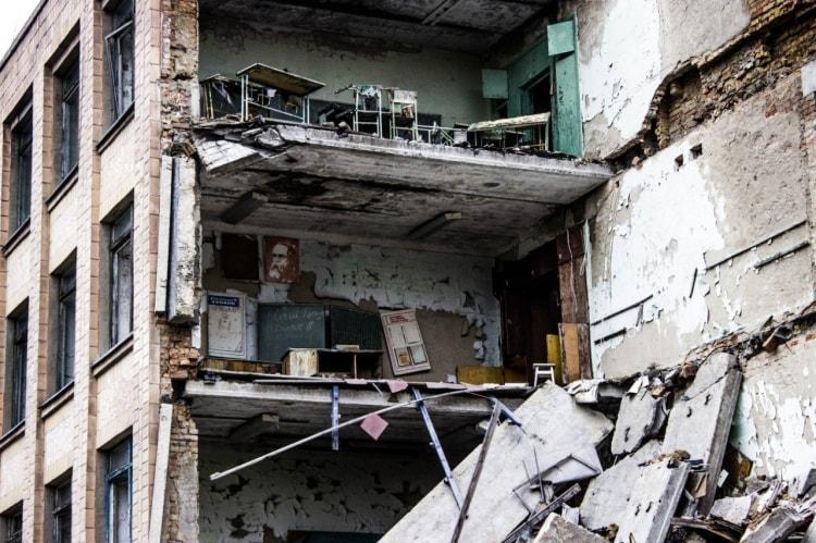 Многоэтажки в Припяти