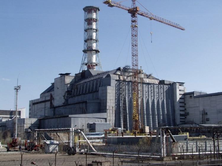 Саркофаг Чернобыльской АЭС