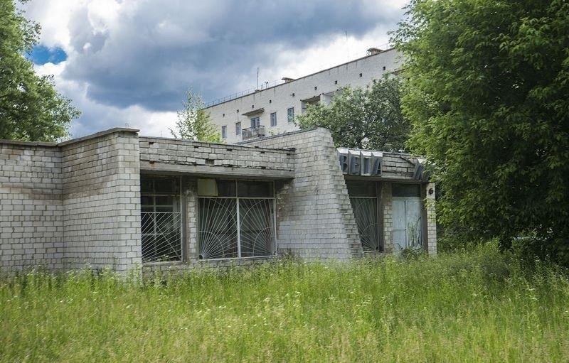 Брошенный дом в Чернобыле