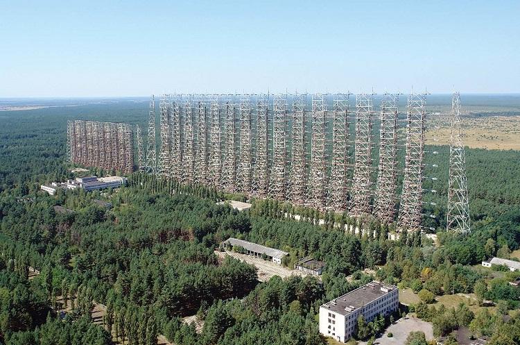 Секретный объект военного назначения в Чернобыле