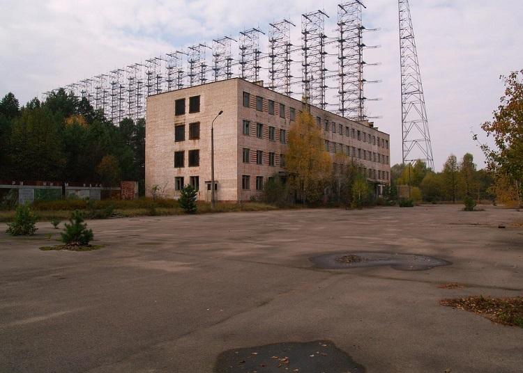 Объект РЛС в Чернобыле