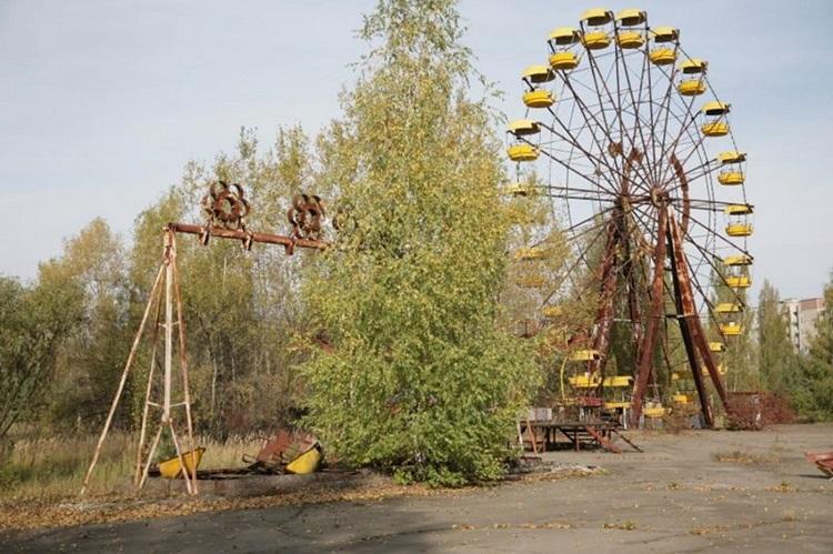 Парк развлечений в Припяти