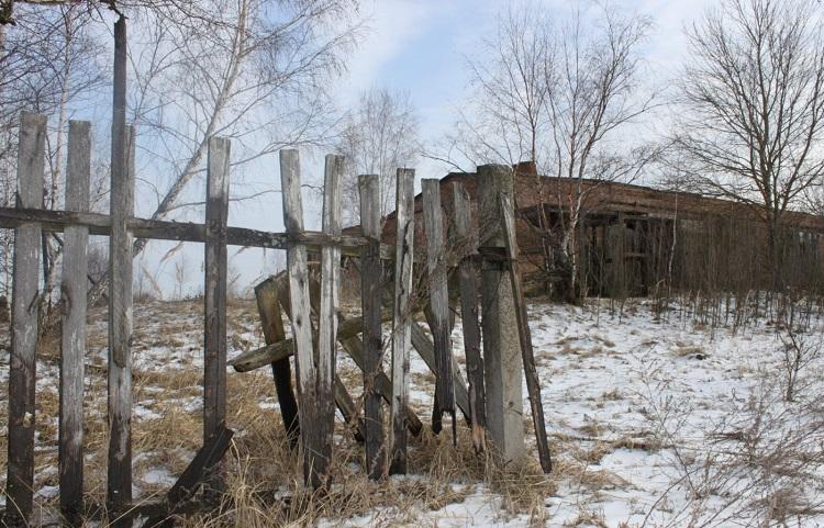 Село в городе Припять