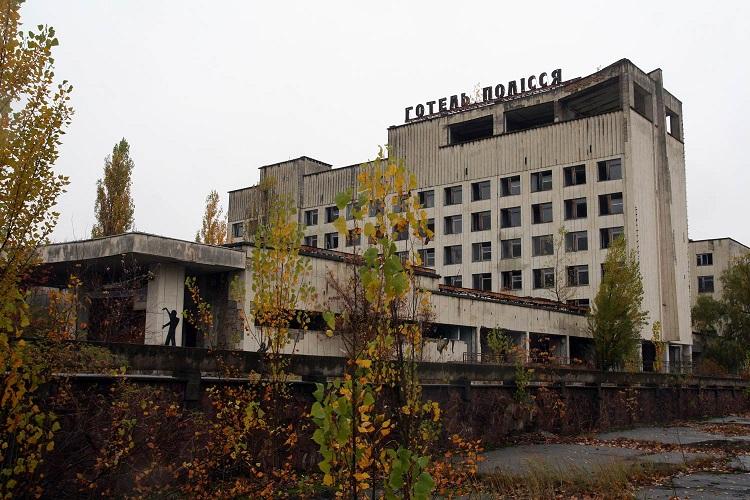 Отель в Припяти