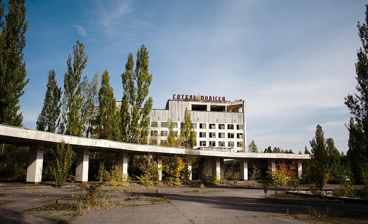 Готель Полисся спустя 30 лет после аварии на ЧАЭС