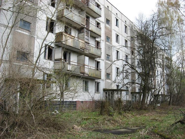 Мертвый город в Чернобыле