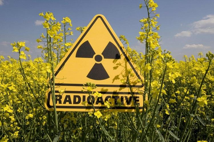 Знак радиактивной опасности
