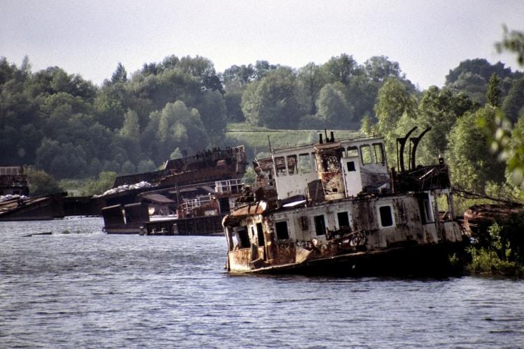 Река Припять спустя 30 лет после аварии на ЧАЭС