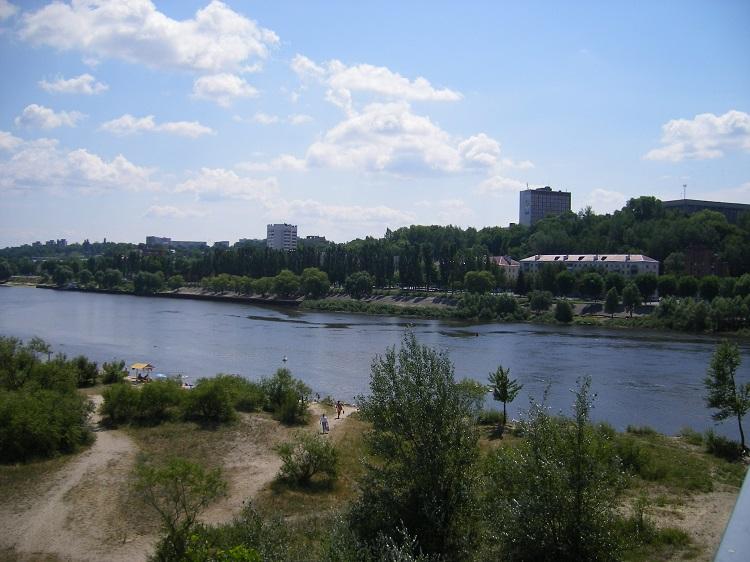 Пейзажи реки Припять
