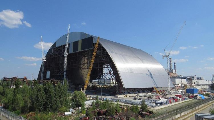 Сооружение Укрытия для четвертого реактора ЧАЭС