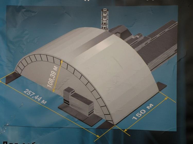 Проект Саркофаг на схеме