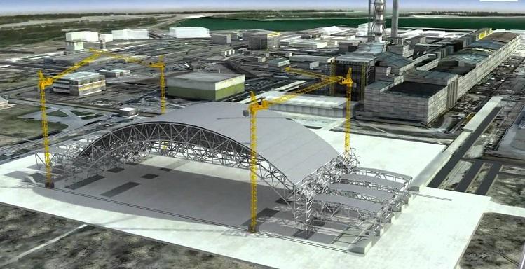 Компьютерная модель проекта Саркофаг-2