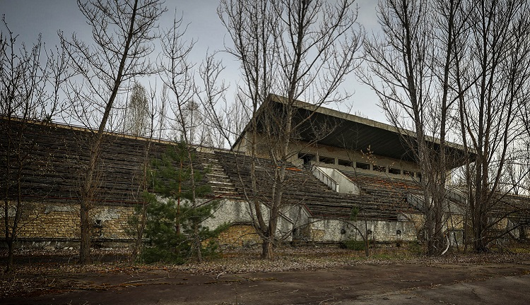 Стадион в Припяти