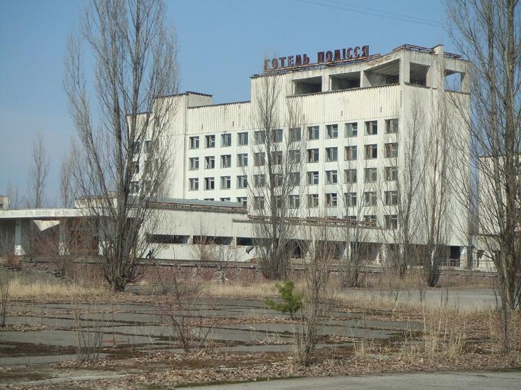 Гостиница в Припяти