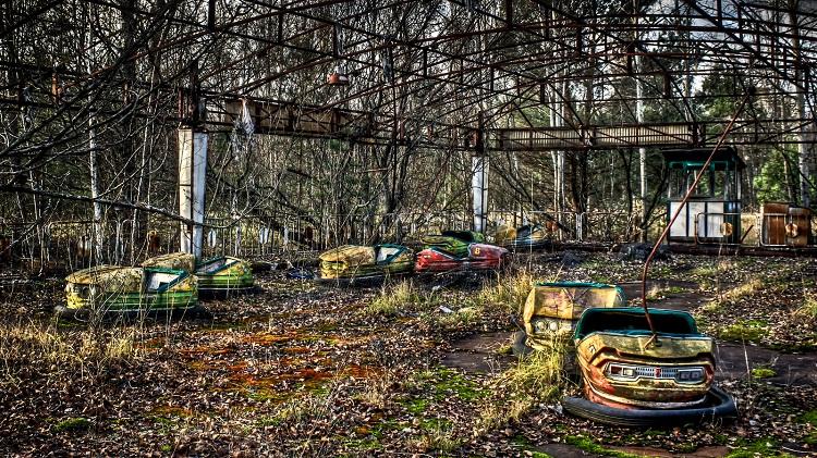 Парк развлечений в мертвом городе Припять