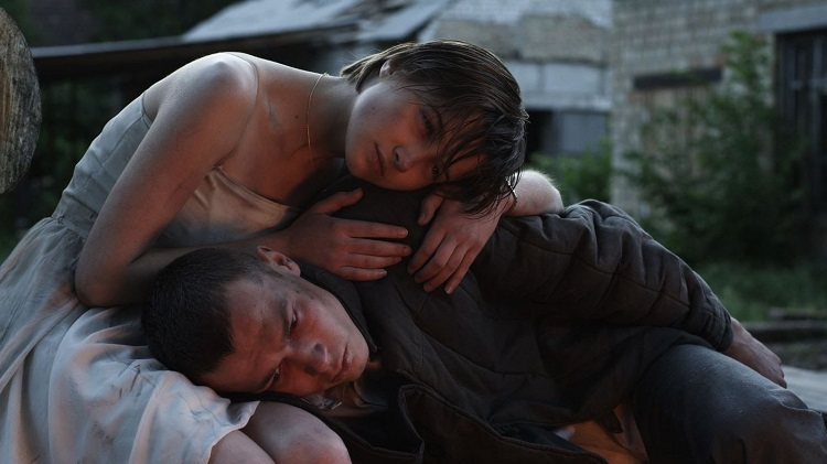 Кадр из фильма про Чернобыль