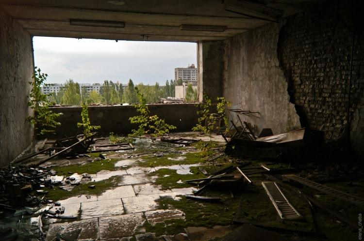 Каким показывают Чернобыль фото после аварии