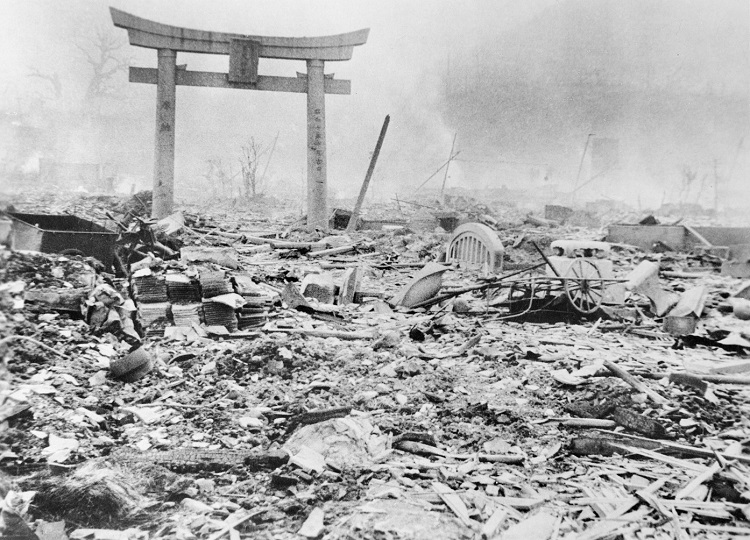 the three important factors behind the decision of dropping the atomic bomb on japan