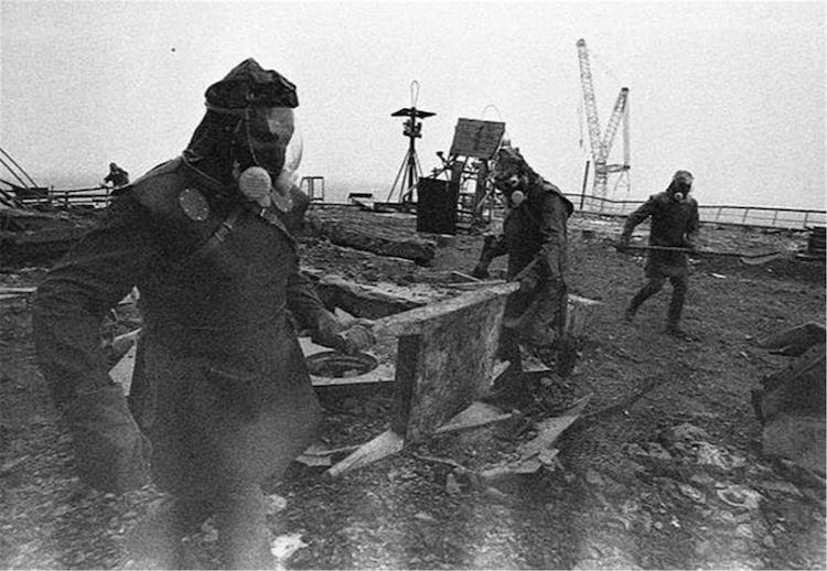 Ликвидация последствий чернобыльской катастрофы