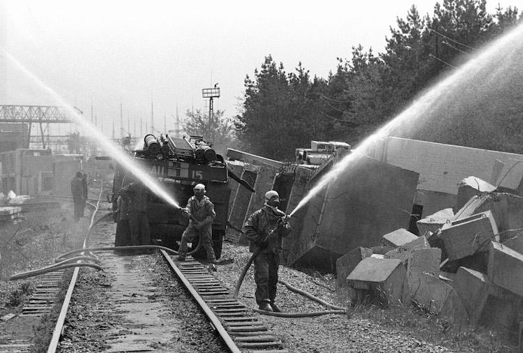Тушения пожара в Чернобыле, 1986 год