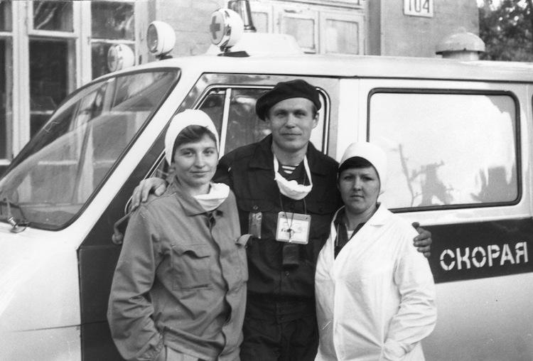 Участники ликвидации аварии на ЧАЭС