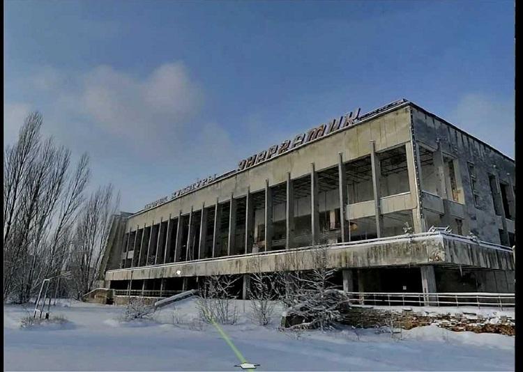 Чернобыль после аварии на ЧАЭС
