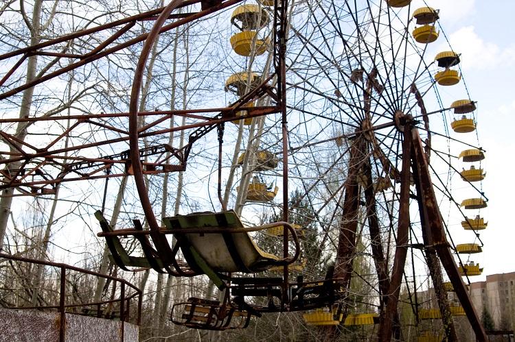Чертово колесо в Чернобыле