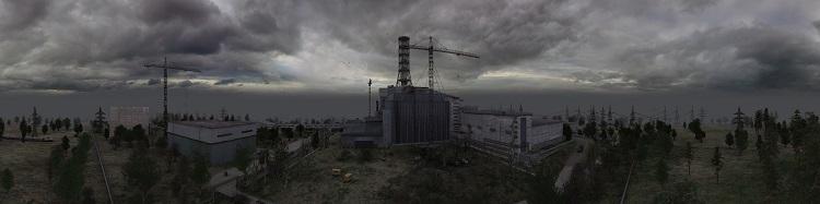 Жуткие панорамы Чернобыля