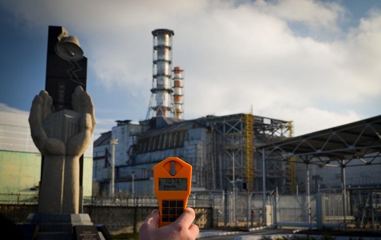 Уровень радиации возле ЧАЭС