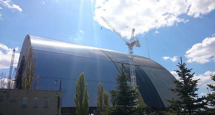 новый саркофаг Чернобыльской АЭС фото