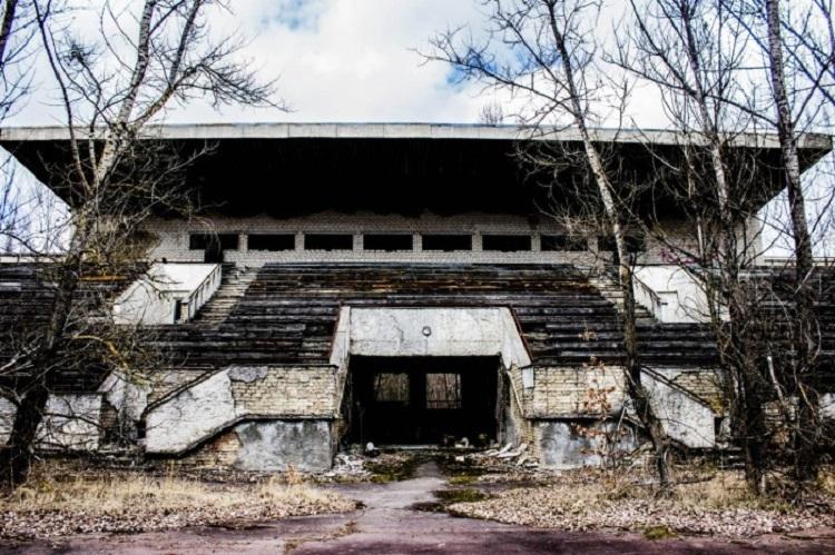 В чернобыльской Припяти