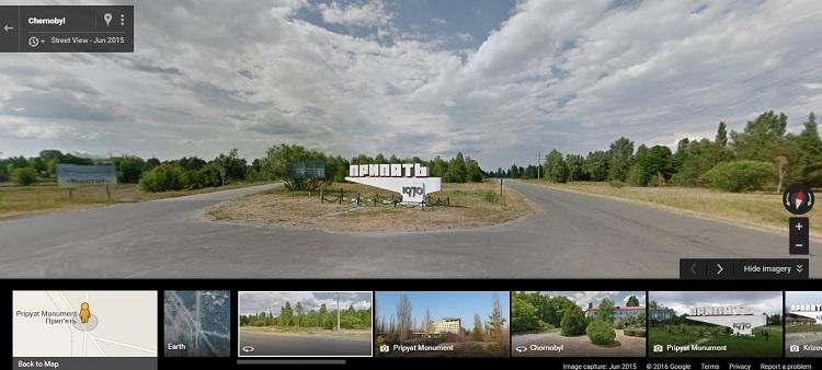 Виртуальные прогулки по Чернобылю
