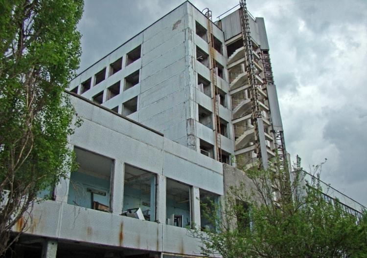 Завод Юпитер в Припяти
