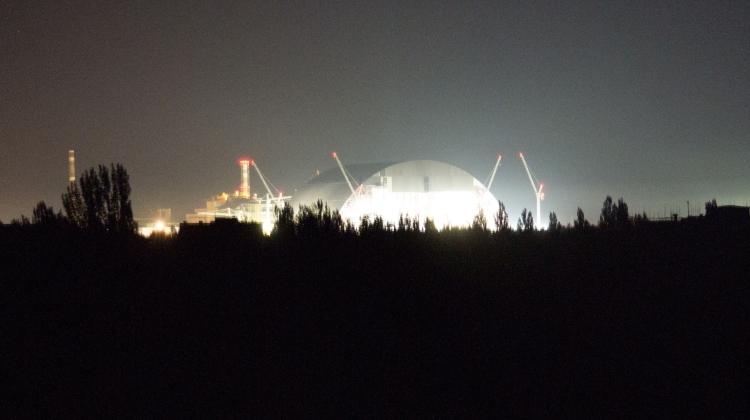 ЧАЭС ночью