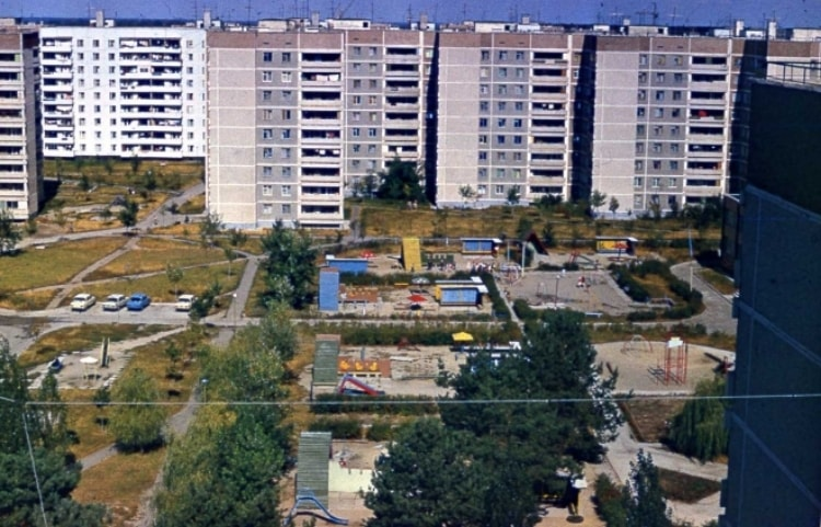 Чернобыль 30 лет назад