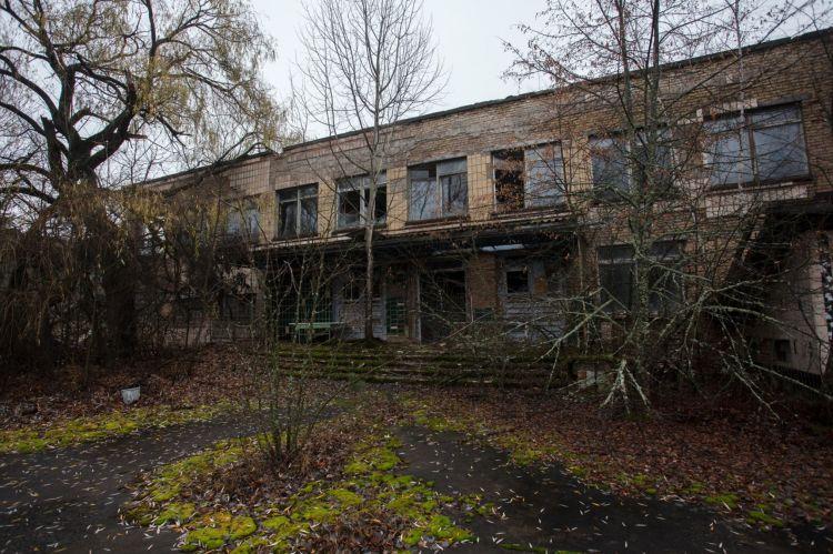 Многоквартирный дом в Чернобыле