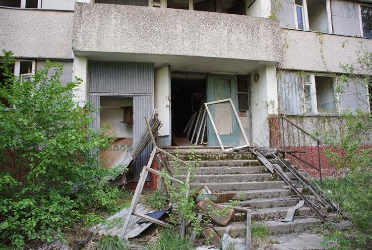 Дом в Припяти