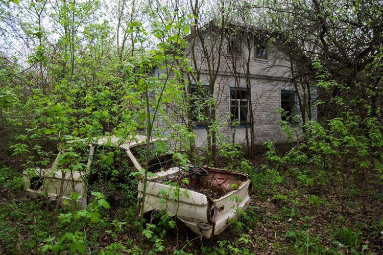 Частный дом в Чернобыле
