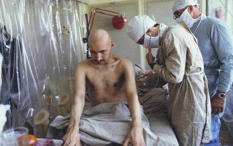 Жертва чернобыльской катастрофы