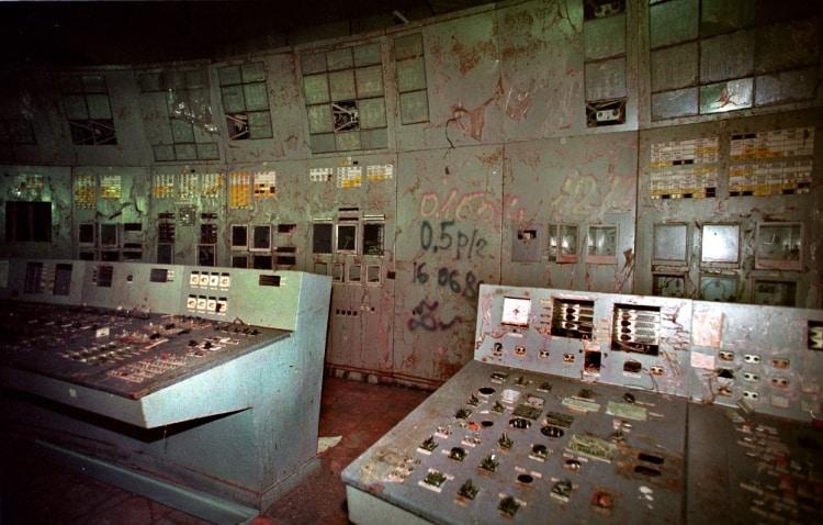 Фото в помещении реактора