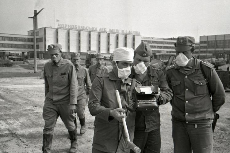 Ликвидаторы в первый день после аварии на ЧАЭС