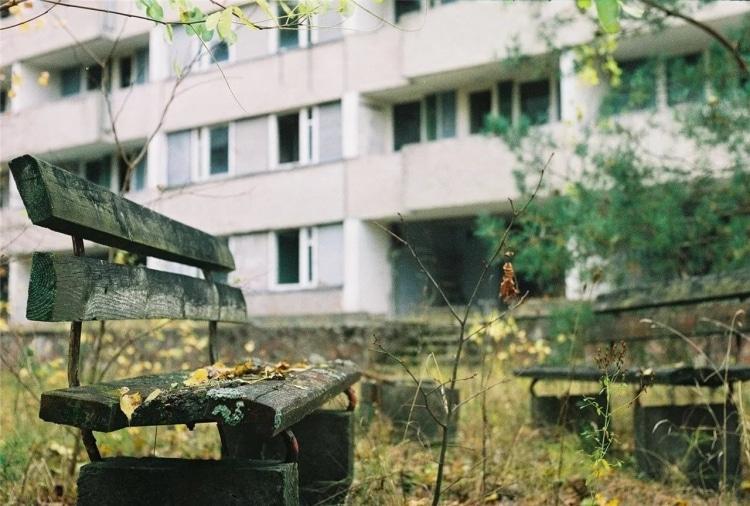 Нежилой дом в Чернобыле