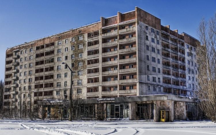 Нежилой дом в Припяти
