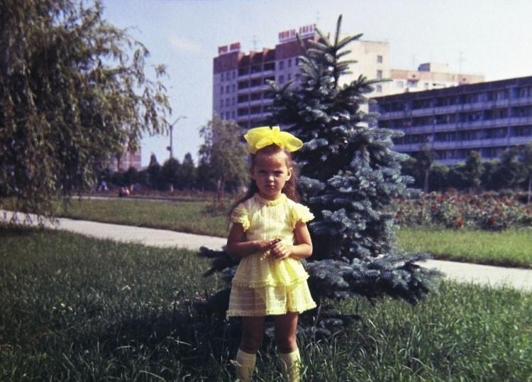 Припятская девочка до аварии на ЧАЭС