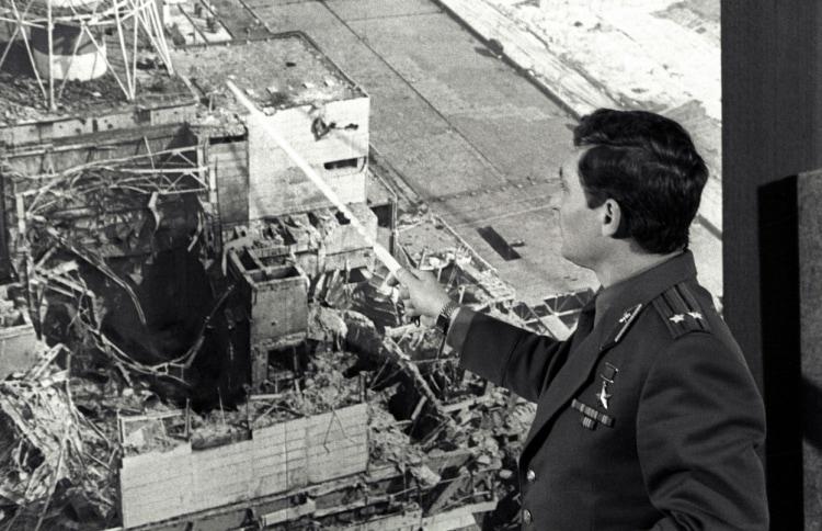 Чернобыльская катастрофа фото