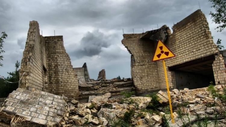 Развалины в Чернобыле